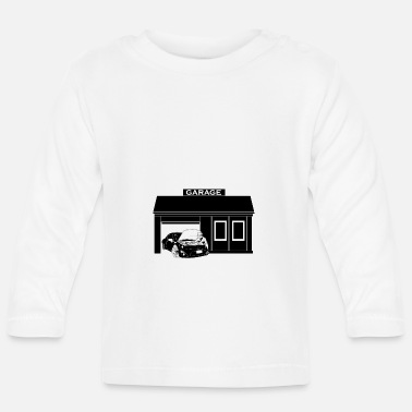 Garage-music Car garage - Baby Longsleeve Shirt