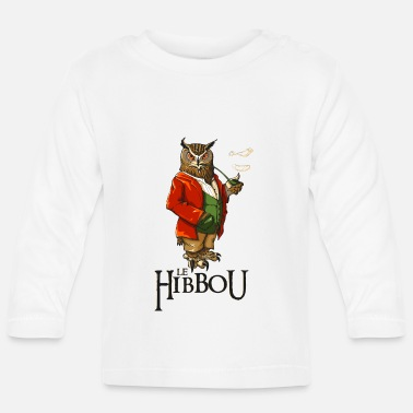 Bobby Bobby the Hibbou - Baby Long Sleeve T-Shirt