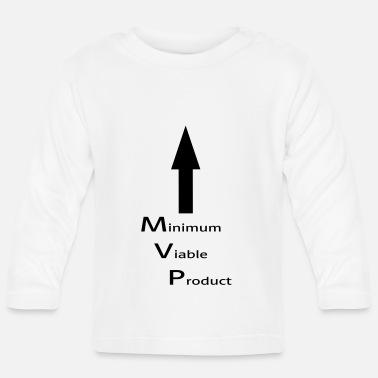 Minimum Minimum Viable Product for self-sucking - Baby Long Sleeve T-Shirt