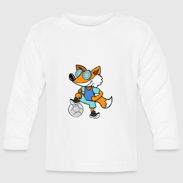 Football Player Fox Football Player Football - Baby Long Sleeve T-Shirt