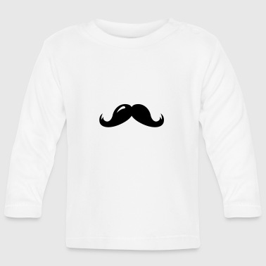 Moustache moustache - Baby Long Sleeve T-Shirt