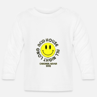 Rap Acide Original Raver Acid House - T-shirt manches longues Bébé