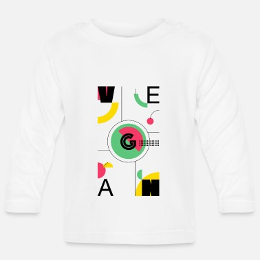Veganuary Abstract Vegan - Baby Longsleeve Shirt