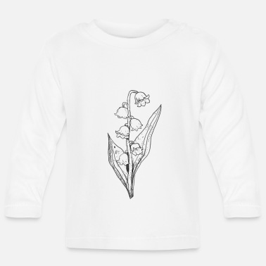 Bezaubern Maiglöckchen Lily Of The Valley - Baby Langarmshirt