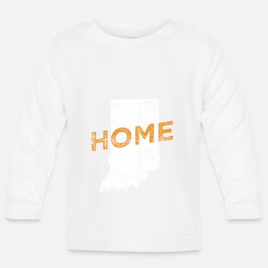 Distressed Indiana Home Distressed - Baby Langarmshirt