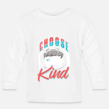 Distressed Choose Kind Distressed - Baby Langarmshirt