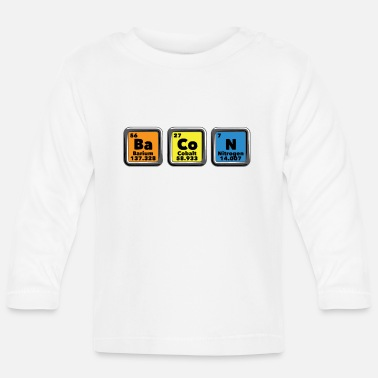 Periodic Table Bacon Periodic Table - Baby Longsleeve Shirt