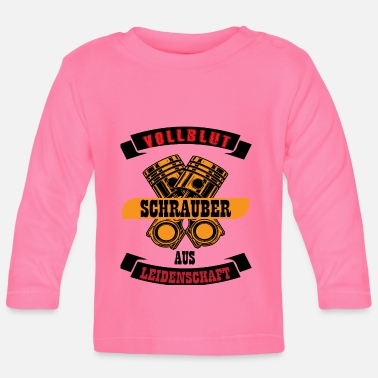 Screwdriver Shirt · Cylinder · Thoroughbred Gift - Baby Longsleeve Shirt