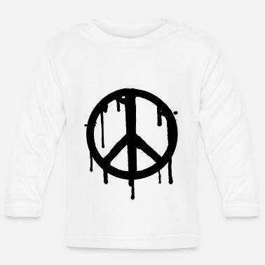 Drippy Dripping Peace - Baby Longsleeve Shirt