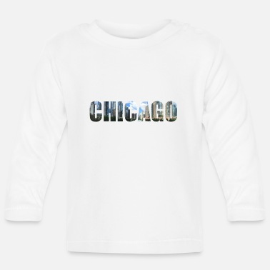 Tourist Chicago Illinois The Windy City America America - Baby Longsleeve Shirt