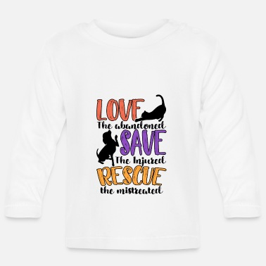 Animal Animal Rescue - Baby Longsleeve Shirt