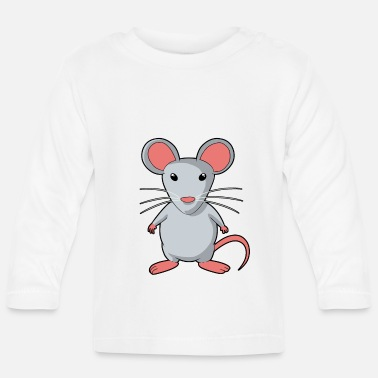 Rodent Mouse rodent rat rodents - Baby Longsleeve Shirt