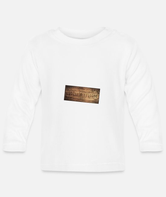 Ultimate Baby Long-Sleeved Shirts - Ultimate Frisbee - Baby Longsleeve Shirt white