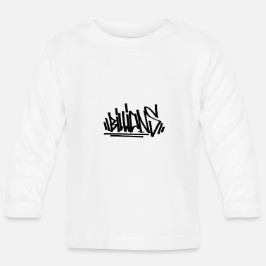 Writing Billions Writing - T-shirt manches longues Bébé