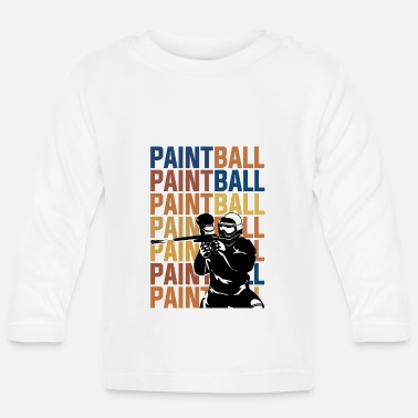 Paintball HET PAINTBALL PAINTBALL VAN HET PAINTBALL - Baby longsleeve
