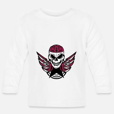 Brain brain wing brains brain - Baby Longsleeve Shirt