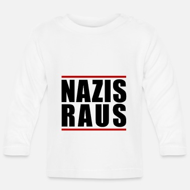 Nazi NAZIS OUT - Baby Long Sleeve T-Shirt