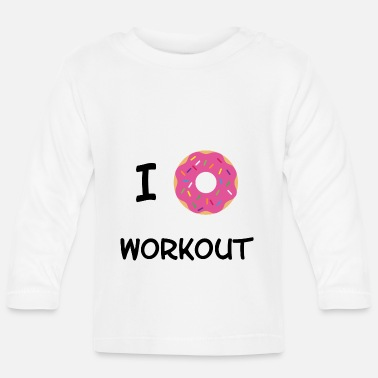 Workout Je Donut Workout - T-shirt manches longues Bébé