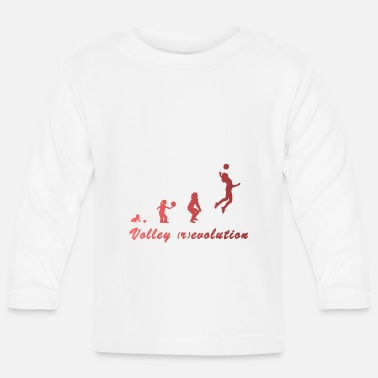 Volley Volley (r) evolution - Langærmet babyshirt