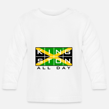 Rasta Kingston All Day! - Maglietta a manica lunga per bambini