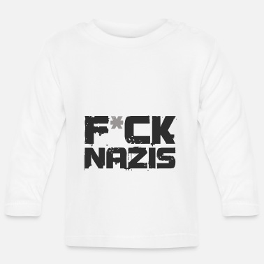 Nazi Anti Nazi - Baby Long Sleeve T-Shirt