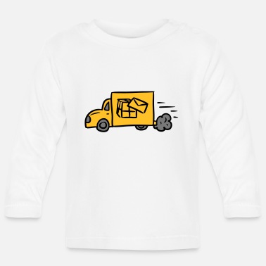 Delivery Post Parcel Service Delivery Delivery Delivery - Baby Longsleeve Shirt