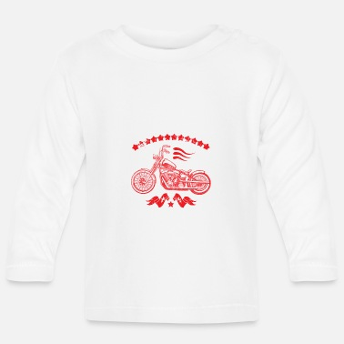 Bikes for Life Red - Baby Longsleeve Shirt