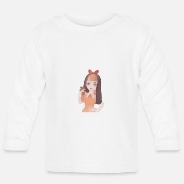 Picture Portrait jolie fille photo - T-shirt manches longues Bébé