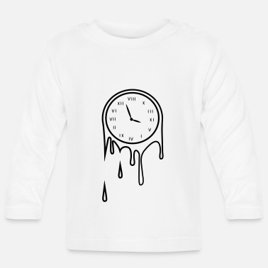 Clock dripping clock - T-shirt