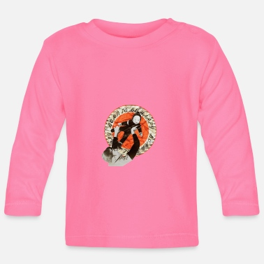 Vintagecontest vintagecontest - retro vintage - mom with her baby - Baby Longsleeve Shirt