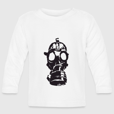 gas mask - Baby Long Sleeve T-Shirt