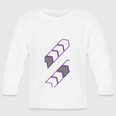 arrows - Baby Long Sleeve T-Shirt
