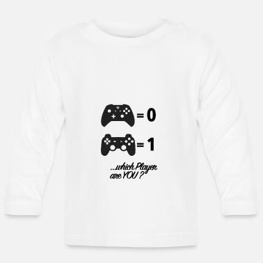 Video Game Console Video Game Console Wars - Baby Longsleeve Shirt