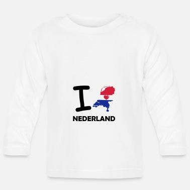 Lovely i love nederland - Baby Longsleeve Shirt