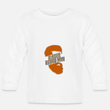 Ginger Ginger Beard Man 04 - Baby Long Sleeve T-Shirt