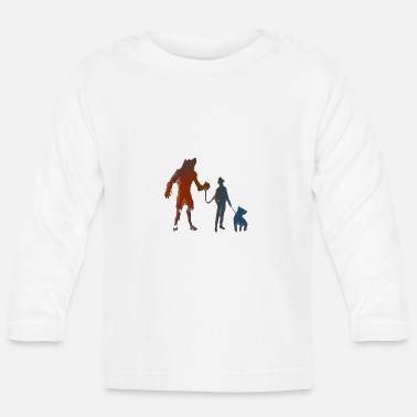 Slave Master We are slaves too - Baby Longsleeve Shirt