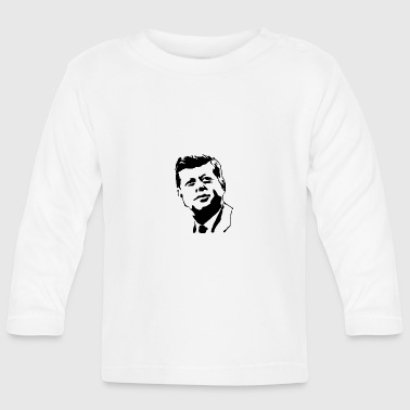 kennedy stencil - Baby Long Sleeve T-Shirt