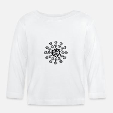 17e1f85de Flujo flujo en espiral - Camiseta de manga larga bebé