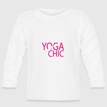 Yoga Chic - Baby Long Sleeve T-Shirt