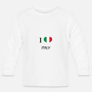 Italian The shirt for Italians, Italy - Baby Long Sleeve T-Shirt