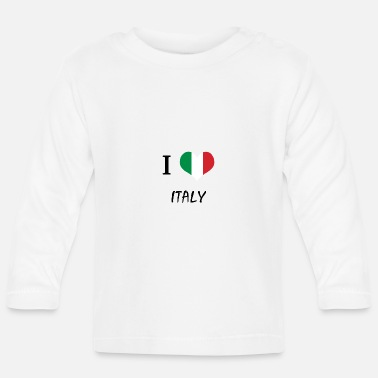 Italian The shirt for Italians, Italy - Baby Longsleeve Shirt