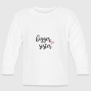 hermana mayor - Camiseta manga larga bebé