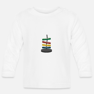 Coloured disks - Baby Longsleeve Shirt