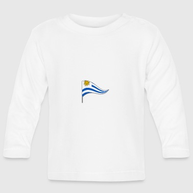 Banner. Flagge.Landesflagge. Uruguay. South America - Baby Long Sleeve T-Shirt