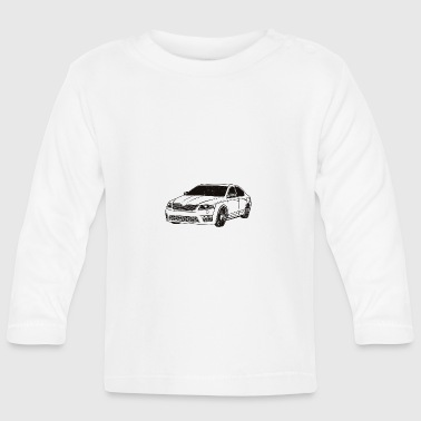 Octavia 3 RS Limo tuning - Baby Long Sleeve T-Shirt