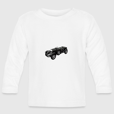 Bentley 4.5 litre classic race car - Camiseta manga larga bebé