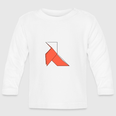 origami paper plane paper airplane1 - Baby Long Sleeve T-Shirt