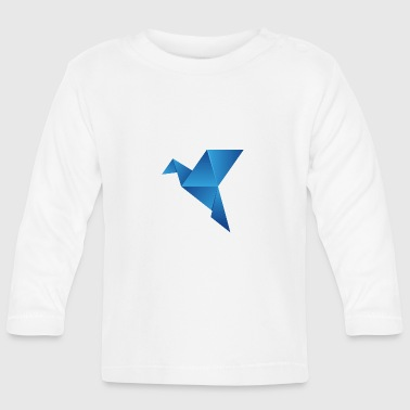 origami paper plane paper airplane13 - Baby Long Sleeve T-Shirt