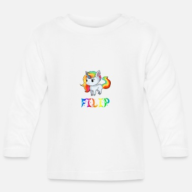 Filip Unicorn Filip - Baby Longsleeve Shirt