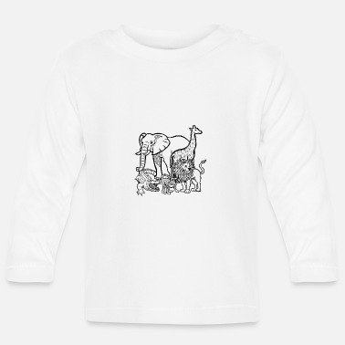 Animal zoo - Baby Longsleeve Shirt